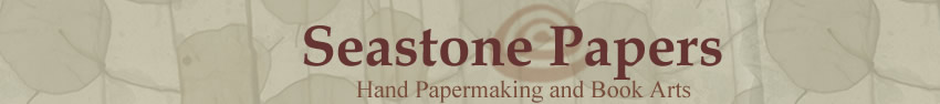 Seastone Papers - Hand Papermaking and Book Arts
